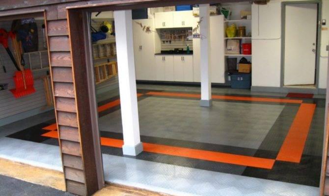 Home Ideas Cool Garage Basement Design