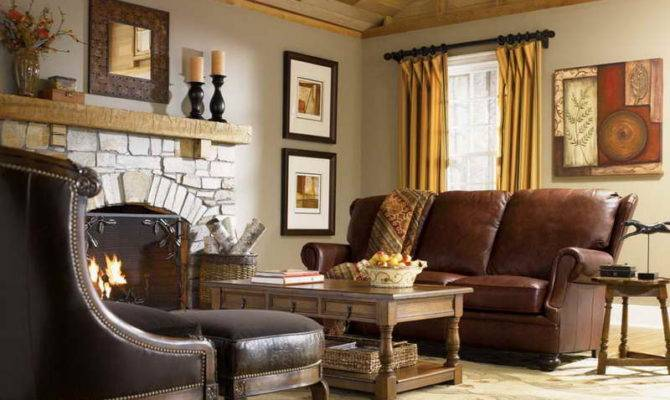 Home Interior Rustic Style Homes