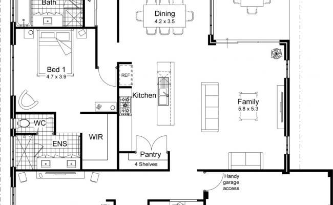 Home Kits Cabin Plans Floor Plan Pool House Garage Guest New Open