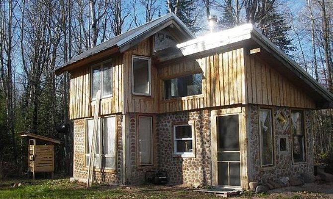 Home Made Cheap Green Handbuilt House Part