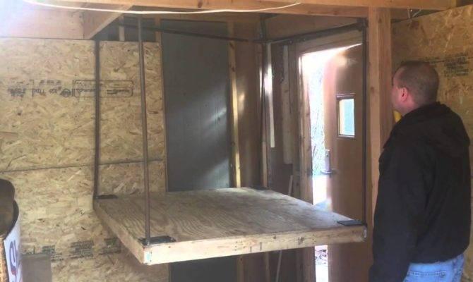 Home Made Elevator Barn Hot Air Balloon Youtube