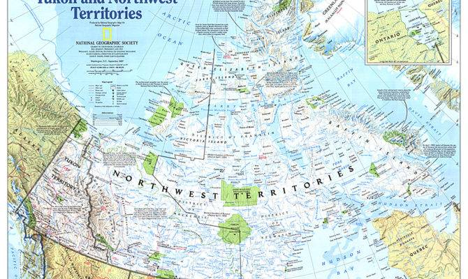 Home Making Canada Yukon Northwest Territories Map