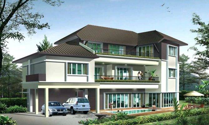 Home Outside Design Beautiful House Simple New