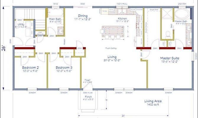 Home Pinterest Open Concept Floor Plans