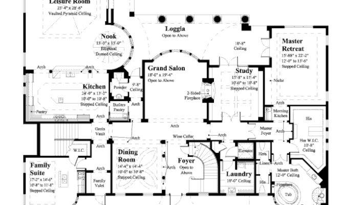 Home Plan Camellia Manor Award Winning House Plans