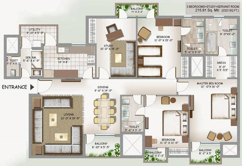 Home Plan Dream Green Plans Pamminv Earth Floor