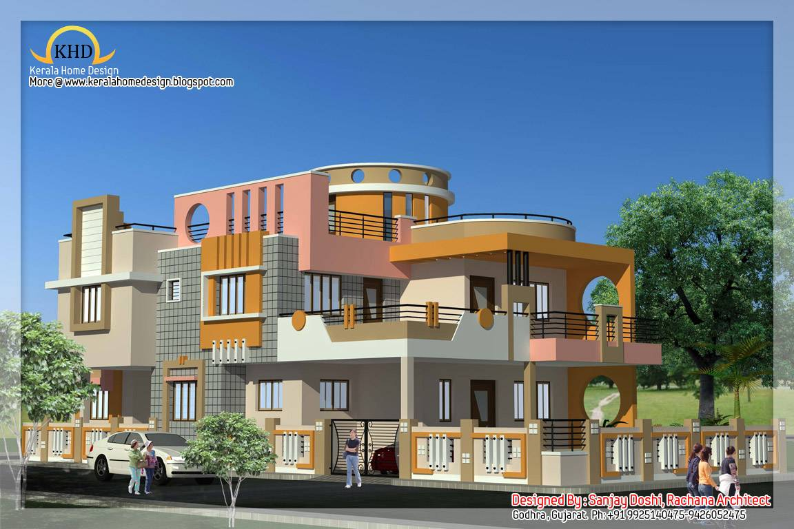 Home Plan Elevation Design Kerala Floor Plans