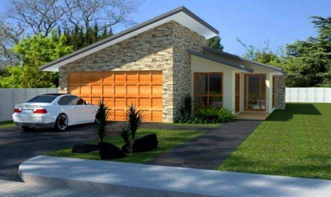 Home Plan Narrow Lot Bedroom House Plans Small