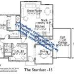 Home Plan Should Similar Either New Ranch Style
