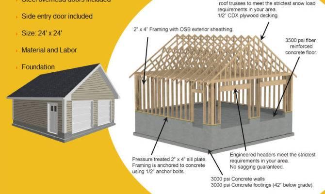 Home Plans Car Detached Garage