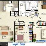Home Plans Design Two Master Suite Floor