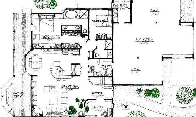 Home Plans Efficient Design Energy House