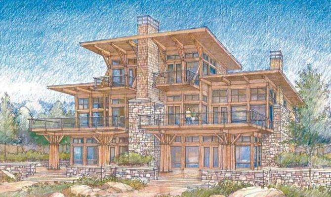 Home Plans Luxury Lake House