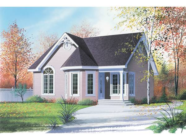 Home Plans Victorian Cottage House