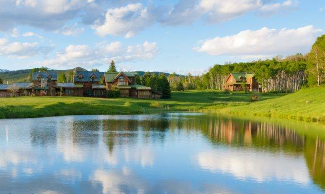 Home Ranch Colorado Lake House