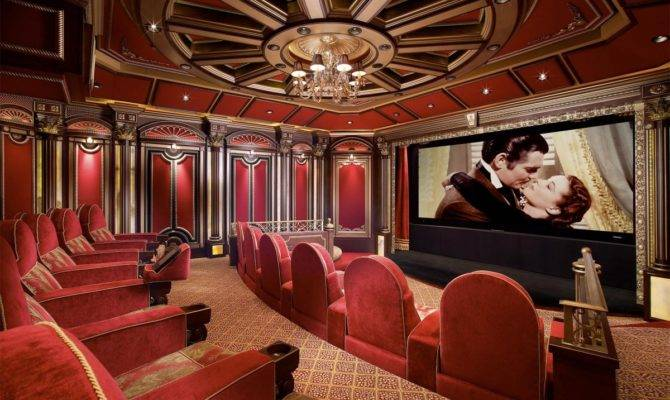 Home Theater Room Ideas Movie Theatre