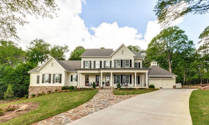 Home Tours Country Farmhouse Marietta Caldwell