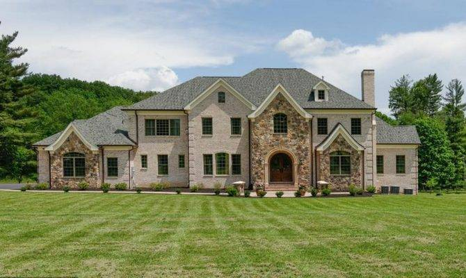 Home United States Homes Square Foot Brick Stone Mansion