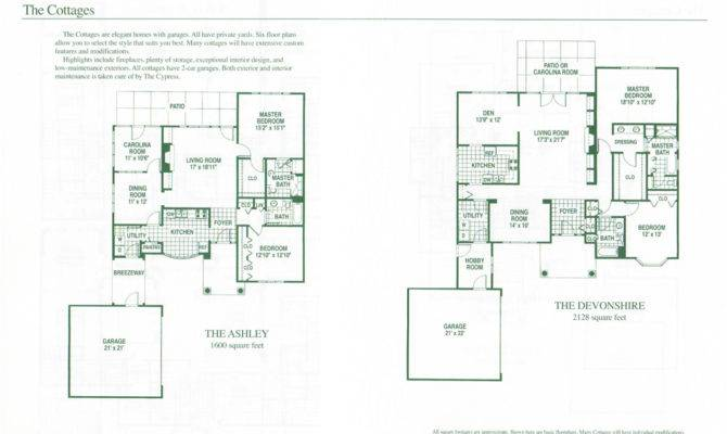 Homes Cottages Charlotte High End Home Floor Plans Cypress