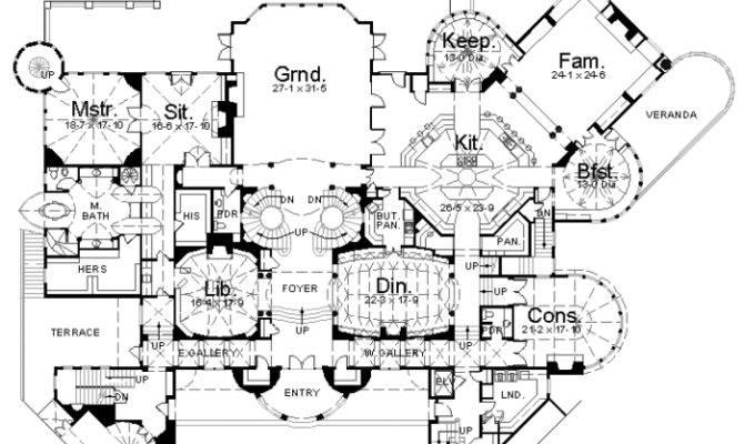 Homes Mansions Balmorial Home Plan