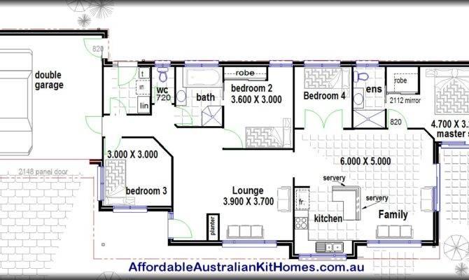 Homes Steel Kit Floor Plans Bedroom House