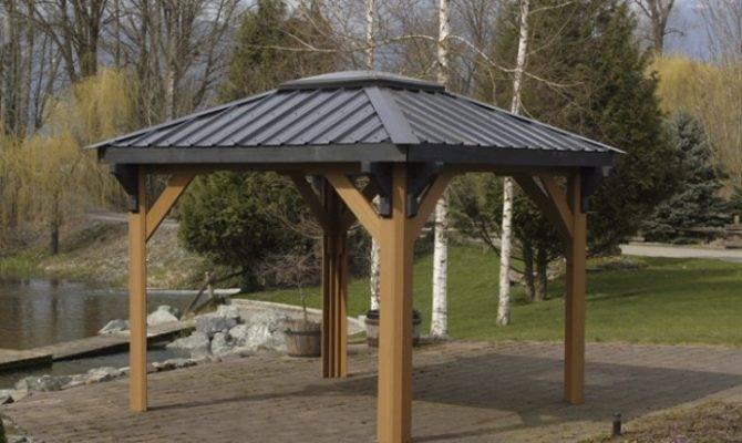 Hot Tub Gazebo Roof Spa Enclosures Gazebos