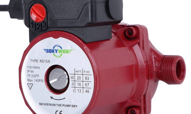 Hot Water Circualtion Pump Circulator