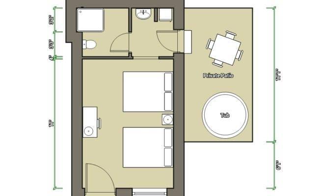 Hotel Room Floor Plan Design Small