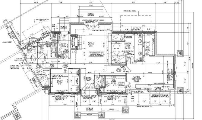 House Blueprint Architectural Plans Architect Drawings