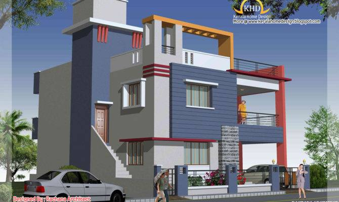 House Building Elevation Impending
