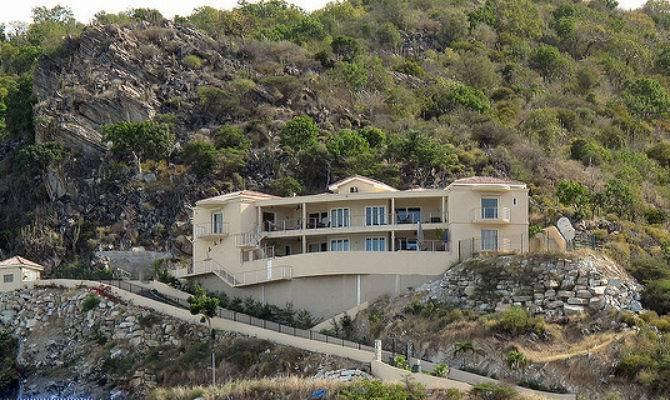 House Built Into Hillside Martin