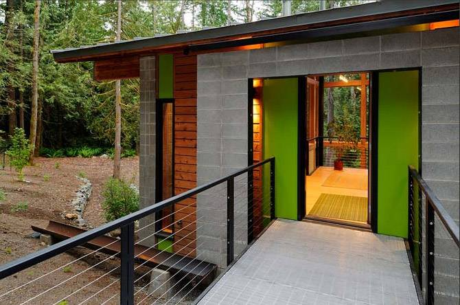 House Eco Sustainable Green Design Architecture