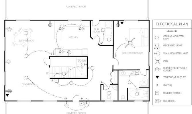 House Electrical Plan Love Drawings These Cool Stuff