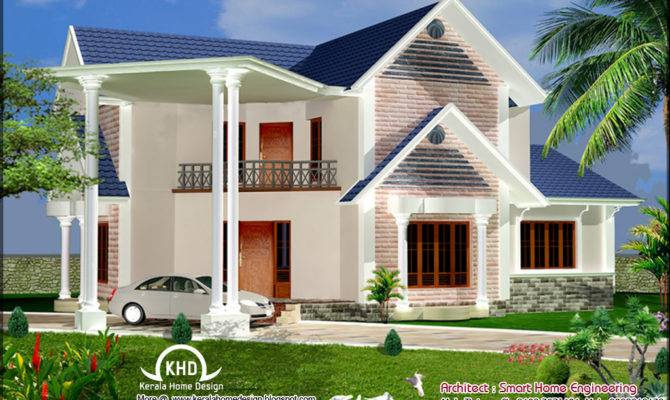 House Elevation Design Kerala Home