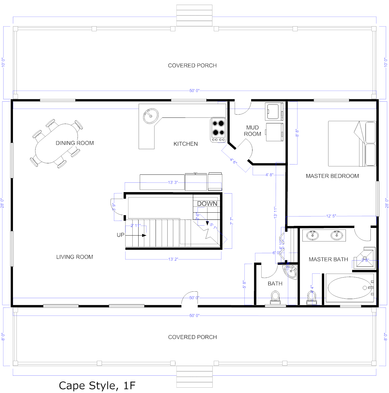 House Floor Plans Plan Small