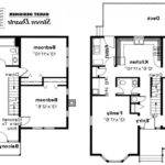 House Floor Plans Small Victorian Home