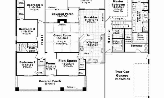 House Floor Plans Under