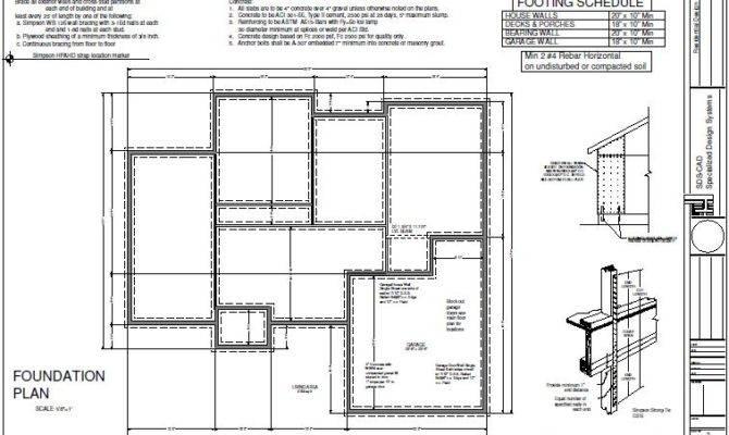 House Foundation Plan Sds Plans