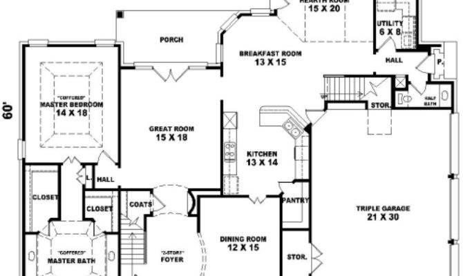 House French Dream Plan Green Builder Plans