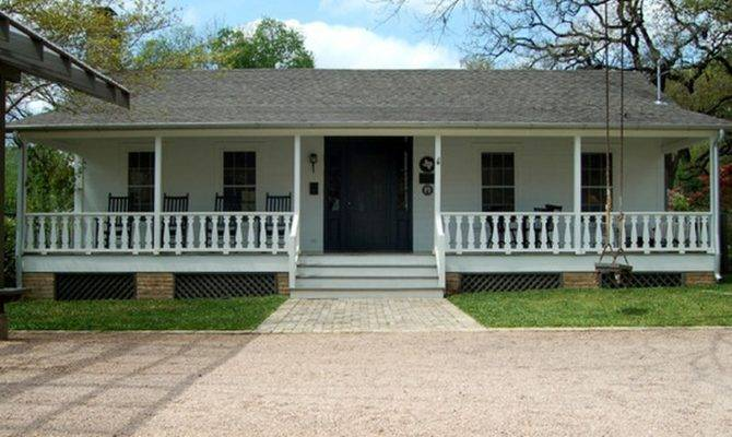 House Gorgeous Front Porch Ranch Style Small