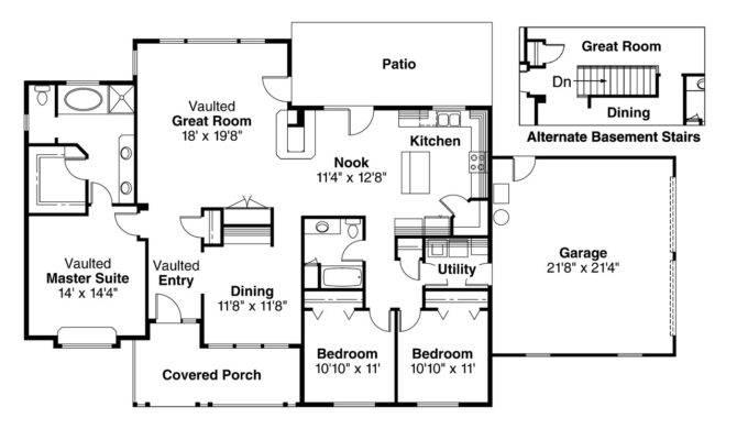 House Kitchen Plans Decor Design Ideas