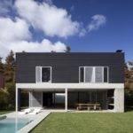 House Modern Minimalism Draped Concrete Steel