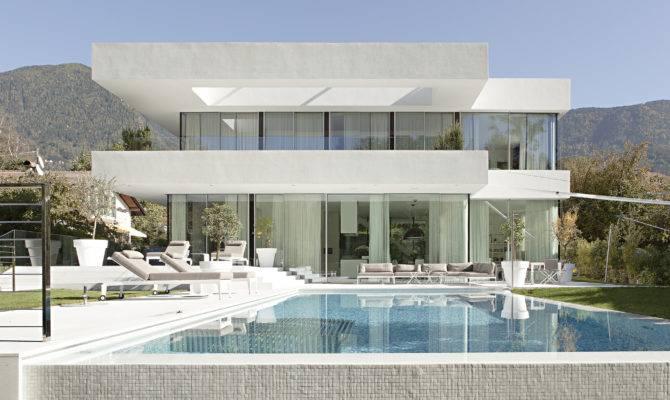 House Monovolume Architecture Design