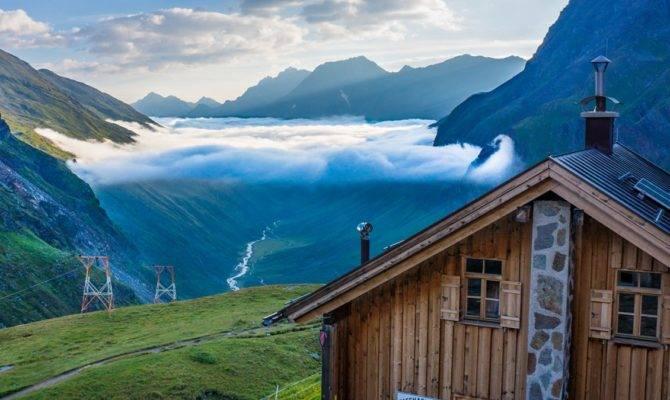 House Mountain Top Beautiful Landscape