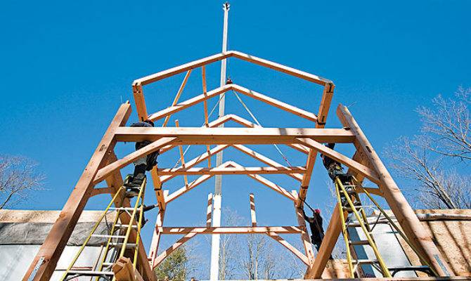 House Nails Building Timber Frame Home