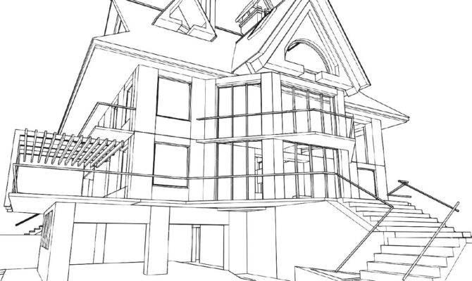 House Perspective Floor Plan