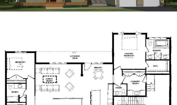 House Plan Autocad Drawing Simple Design