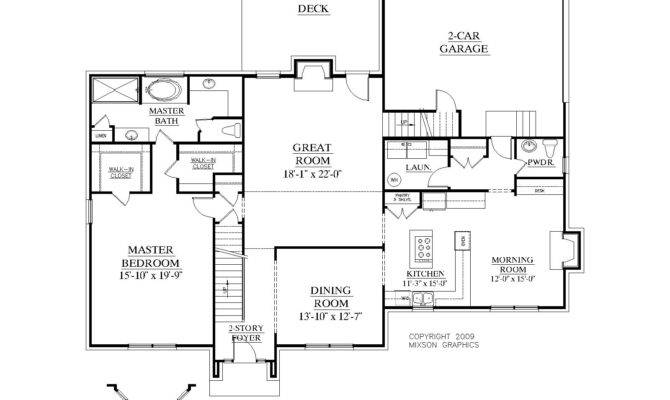 House Plan Ballentine First Floor
