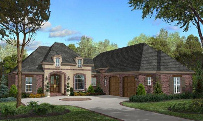 House Plan Bdrm Acadian Home
