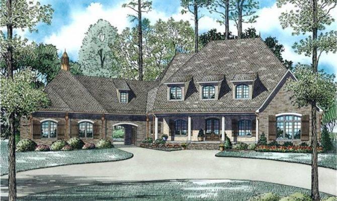 House Plan Bdrm European Style
